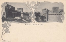 SWITZERLAND-SCHWEIZ-SUISSE-SVIZZERA-TICINO-BELLINZONA-CARTOLINA NON VIAGGIATA-ANNO 1900-1904 - TI Ticino