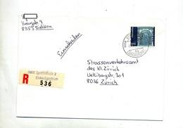 Lettre Recommandee Spreitenbach Magasin Sur Porte - Postmark Collection