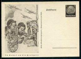 "D.Bes.39/45-Luxemburg / 1941 / Sonderpostkarte Mi. P 5/07 ""Luftnachrichtentruppe"" ** (12371) - Besetzungen 1938-45"