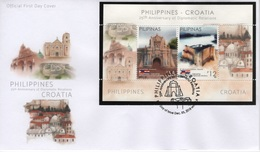 Philippines (2018)  - FDC -   /  Joint Issue With Croatia - Gezamelijke Uitgaven
