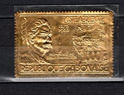 GABON PA N° 41  NEUF SANS CHARNIERE COTE  75.00€    ALBERT SCHWEITZER  TIMBRE OR - Gabon (1960-...)