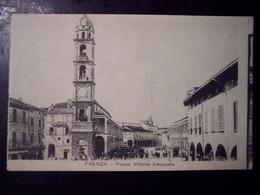 Faenza (Ravenna): Piazza Vittorio Emanuele. Cartolina Fp Inizio '900 - Faenza