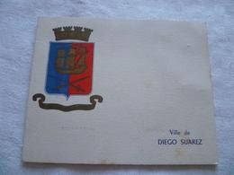 Carte De Voeux , Résidence Diego Suarez , Pileni , Environ 1954 , Madagascar - Visiting Cards