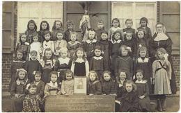 ST ELOOIS-WINKEL - Winkel St Eloi - Ledegem - Carte Photo - Leerlingen Zustersschool H. Vincentius Schooljaar 1919-20 - Ledegem