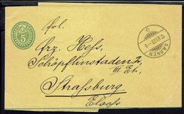 Suisse - Entier Bande Journal 5 C. De Sarnen Du 12-VI-1903 Pour Strassburg Elsass - B/TB - - Entiers Postaux