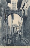 ARCO-TRENTO-AUS ALT-ARCO-CARTOLINA ANIMTISSIMA-VIAGGIATA IL 29-11-1906 - Trento