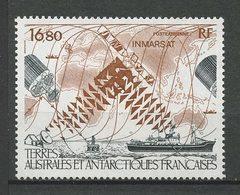 TAAF 1987 N° 99 ** Neuf MNH Superbe C 11 € Espace Space Satellite INMARSAT Bateaux Navires Boats Planisphère - Poste Aérienne