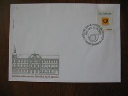 FDC  Enveloppe Slovénie  1995   Slovenija  Architecture Postal - Slovénie