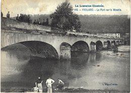 Carte Postale Ancienne De FROUARD - Pont Sur La Moselle - Frouard