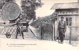 EVENEMENTS Grèves - LA GREVE DES CHEMINS DE FER (1910) C'est La Thune Qu'ils Auront ... (bon Plan Animé ) CPA - - Grèves
