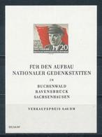 DDR Block 14 ** Mi. 12,- - DDR