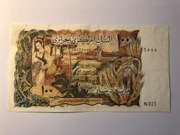 100 Dinars 1970 SUPERBE - Algérie