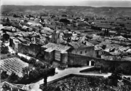 26-TULETTE- L'EGLISE ET VESTIGES DES ANCIENNES FORTIFICATIONS VUE DU CIEL - Other Municipalities