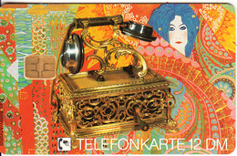 GERMANY - Old Telephone 1900(E 07), Tirage 30000, 08/92, Mint - Telephones