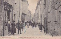 LOT – CASTELNAU-MONTRATIER – Rue Joffre - Francia