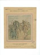 Guerre 1870-71 Deutschland Krieg Prise D'un Convoi Allemand Couverture Protège-cahier Bien +/- 1900 3 Scans - Protège-cahiers