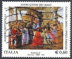 Italia, 2010 Natale 0,60 € # Sassone 3207 - Michel 3415 - Scott 3035  USATO - 6. 1946-.. República