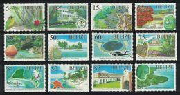2005 Belize - Archaelogical Reserves 12v., Tourism, Birds, Cays Yv 1185/1196  Mi 1291/1302 MNH - Arqueología