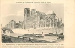 75 - PARIS - NOTRE DAME - COLLECTION DES CATHEDRALES - Notre Dame De Paris