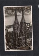 85430    Germania,   Koln A. Rh.,  Dom-Westseite Aus Der Vogelschau,  NV - Koeln