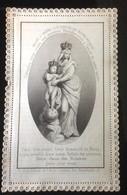 CANIVET ANCIEN NOTRE DAME VICTOIRES DE BLOIS DENTELLE LACE HOLY CARD SANTINI DEVOTIEPRENTJE IMAGE PIEUSE - Imágenes Religiosas