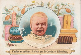 Chromos : Chocolats De La Drome Et De L'hermitage De Stérimberg - Tain - L'enfant Est Méchant Il N'aura Pas De Chocolat - Sin Clasificación