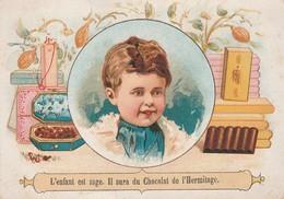 Chromos : Chocolats De La Drome Et De L'hermitage De Stérimberg - Tain - L'enfant Est Sage Il Aura Du Chocolat - Sin Clasificación