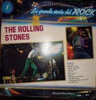 THE ROLLING STONES LP 33 LA GRANDE STORIA DEL ROCK CURCIO EDITORE - Collezioni