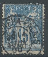 Lot N°48059  N°90, Oblit Cachet à Date étranger De MUSTAPHA-PALAIS (ALGER) - 1876-1898 Sage (Type II)
