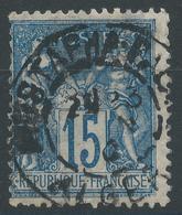 Lot N°48061  N°90, Oblit Cachet à Date étranger De MUSTAPHA-PALAIS (ALGER) - 1876-1898 Sage (Type II)