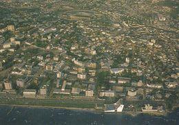 Cp , GABON , LIBREVILLE , Vue Aérienne Du Centre - Gabon