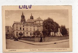 DEPT 54 : édit. ? : Lunéville Monument Commémoratif De La Guerre 1970-71 - Luneville
