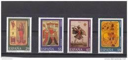 España Nº 3317 Al 3320 - 1931-Hoy: 2ª República - ... Juan Carlos I