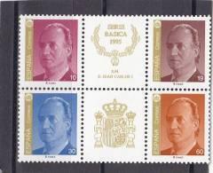 España Nº 3378A Al 3381A - 1931-Hoy: 2ª República - ... Juan Carlos I