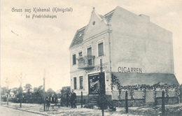 FRIEDRICHSHAGEN (Berlin-Treptow) - 1917 , Gruss Aus Kiekemal (Königstal)  -  Stempel: MAHLSDORF - Allemagne