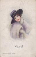 CPA - Thèmes - Illustrateur  - Types Of English Beauty - Portrait De Femme - Nanni