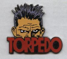 Pin's Saggay BD Jordi Bernet Torpedo (3,5cm X 4cm) - Stripverhalen