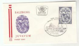 1971 Special Salzburg FDC 1200th SALZBURG RELIGION Stamps Cover AUSTRIA - FDC