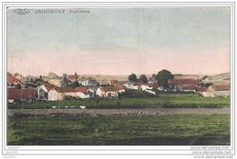 GRIBOMONT ..-- MILITARIA .  Panorama . 1914 . Feldpost Vers Allemagne . Voir Verso . - Herbeumont