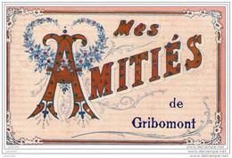GRIBOMONT ..-- 1908 De ST - MEDARD Vers ST - MEDARD ( Mr Narcisse SAUDMONT ) . Voir Verso . - Herbeumont