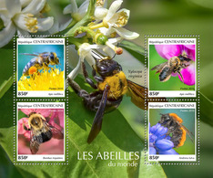 CENTRAL AFRICA 2019 - Bees. Official Issue - Honingbijen