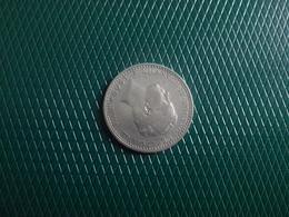 100  Reis 1909   D.Manuel I,    Silver - Portugal