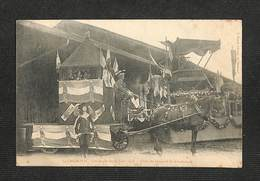 42 - SAINT-CHAMOND - Cavalcade Du 30 Juin 1907 - Char Du Guignol St-Chamonais - RARE - Saint Chamond