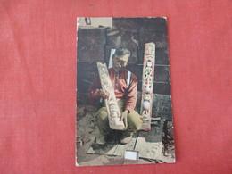Totem Maker       Ref 3284 - Indiens De L'Amerique Du Nord