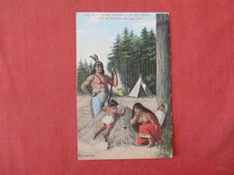 Topless Indian High Rock Spring Saratoga Springs NY        Ref 3284 - Indiens De L'Amerique Du Nord