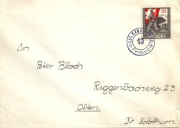 "Feldpost Brief  ""Lst.Kanonier Kp.10""            Ca. 1916 - Military Post"
