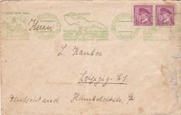 ENVELOPPE CIRCULEE CZECHOSLOVAKIA 1936 BANDELETA PARLANTE - BLEUP - Briefe U. Dokumente