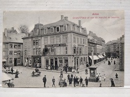 Arlon. Grand'Place Et Rue Du Marché Au Beurre - Aarlen