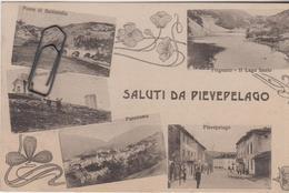 Saluti Da Pievepelago Modena  4 Vedute - Other Cities