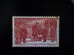 Norway (Norge), Scott #805 Used (o), 1982, King Haakon VII, 2k, Brown Red - Norway